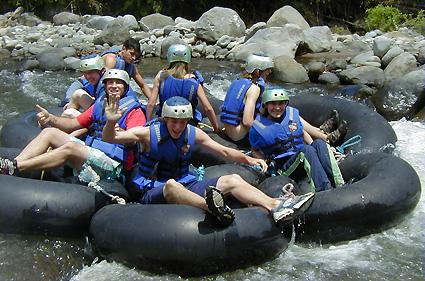 Ecuador River Rafting