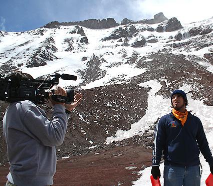 Filming TVOL